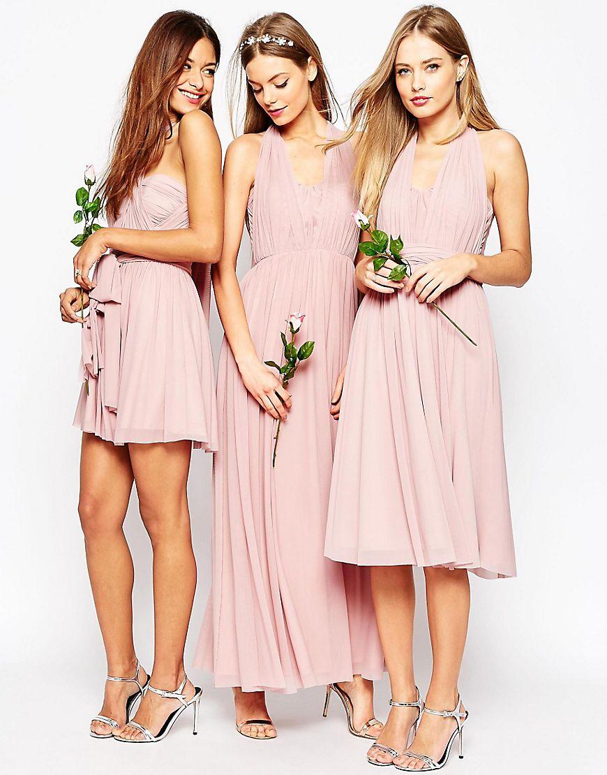 ASOS WEDDING Multiway Mesh Maxi Dress HKD$ 1,062.48