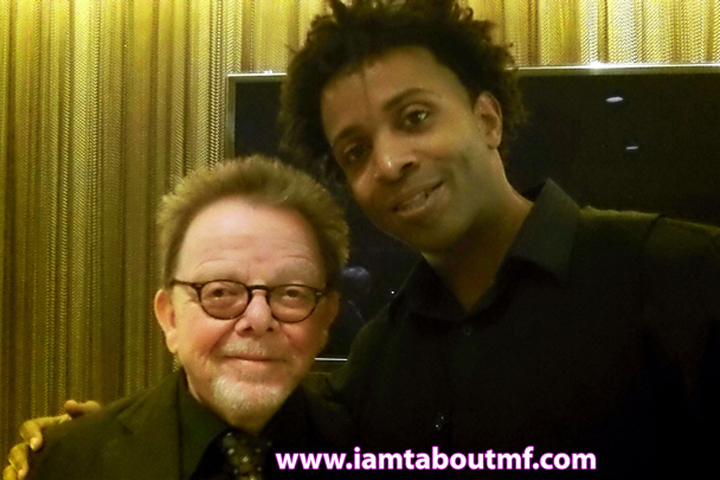 ASCAP President Paul Williams & Tabou TMF aka Undefinable One at HBO Premiere