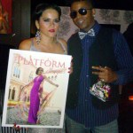 Cover Model Olga Marie & Tabou TMF aka Undefinable One at Platform Magazine Launch