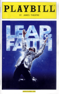 Leap of Faith Playbill