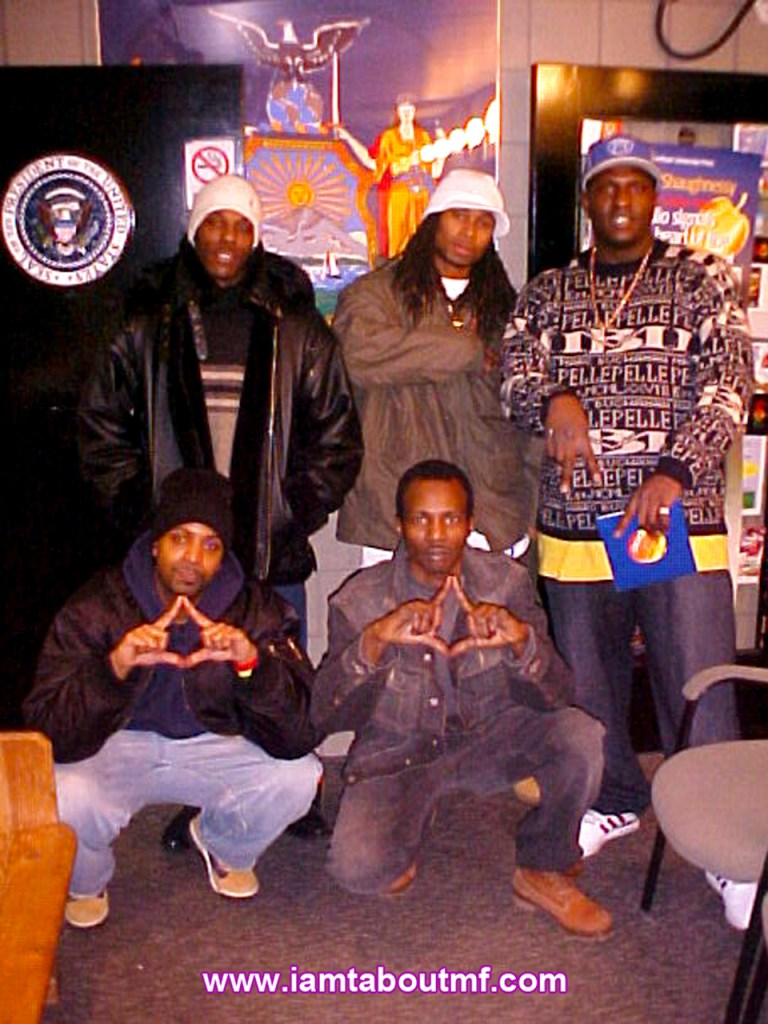 Tabou TMF aka Undefinable One , Mr Lee & Spragga Lex at WRTN / WVIP 93.5 FM
