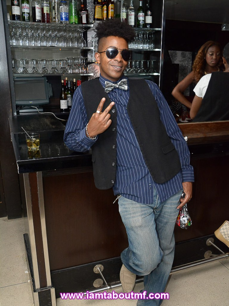 Tabou TMF aka Undefinable One at INC Lounge in NYC (Photo by Charlie Pride)