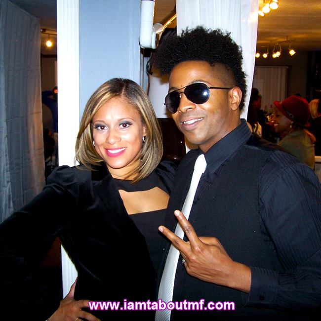 Tabou TMF aka Undefinable One at The Luxe Beauty Lounge Launch Party in Brooklyn NYC