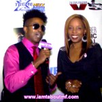 Tabou TMF aka Undefinable One interviewing Rah Digga on the Red Carpet for Undefinable Vision