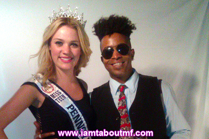 Tabou TMF aka Undefinable One & Miss Teen Pennsylvania at The Carlton Hotel NY