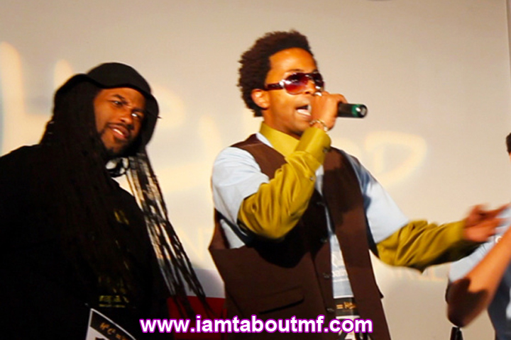 Tabou TMF aka Undefinable One performing live on Video Music Box for Rapathon 5 at the Harlem Culture Center.