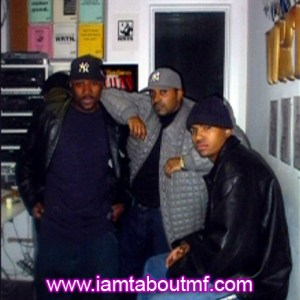 Tabou TMF aka Undefinable One Throwback Thursday Chilling taking photos at the Radio Station in New York during a commercial break hosting and producing one of our live broadcasts