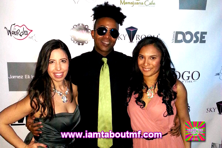 Tabou TMF aka Undefinable One and The Social Butterfly Ladies at Sky Room NYC