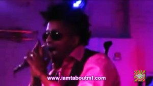 Tabou TMF aka Undefinable One performing at Silvana in Harlem