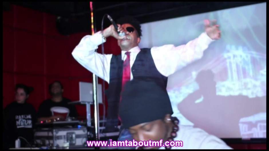 Tabou TMF aka Undefinable One & Path P Performing at R Bar in New York City
