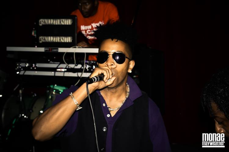 Tabou TMF aka Undefinable One performing at Spike Hill in Brooklyn, NY