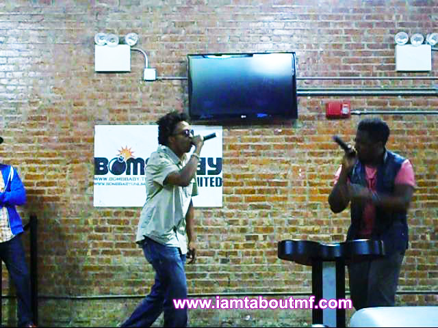 Tabou TMF aka Undefinable One & Path P Performing at Harlem Lanes