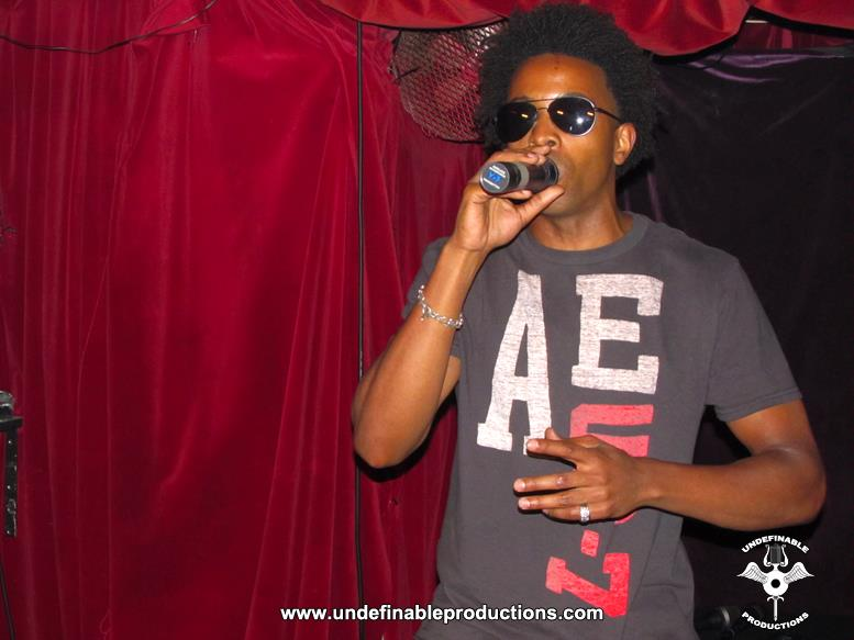 Tabou TMF aka Undefinable One Performing at Karma Lounge in New York City