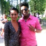 Syndee Winters and TabouTMF at The 2016 Central Brooklyn Arts & Culture Walk
