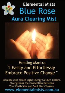 Blue Rose Aura Clearing Mist