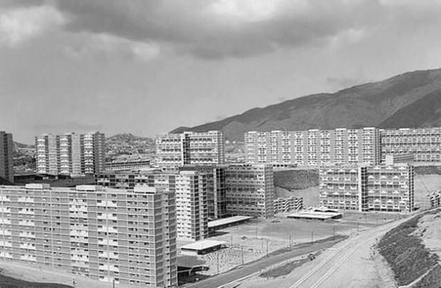 Bloques del 23 de Enero, diseñados por Villanueva en la década de 1950.