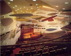 Aula Magna. Ciudad Universitaria. Foto Luis Brito. Cortesía Archivo Copred