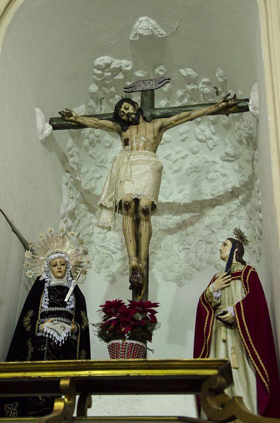 Iglesia Dulce Nombre de Jesús, Cristo de la Salud, Centro Histórico de Petare, Municipio Sucre, Caracas. Fotografías Luis Chacín.