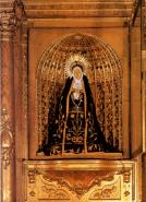 Imagen de Ntra. Sra de la Soledad. Escultura de vestir. 1654.