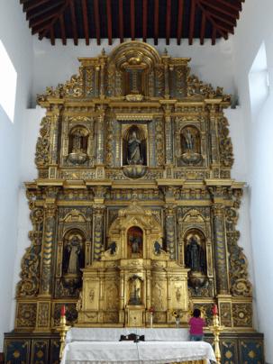 Retablo del Altar Mayor, Iglesia de San Francisco, Caracas, 2016.