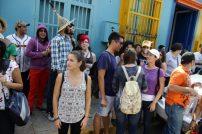 Recorrido Calle Carabobo seminario