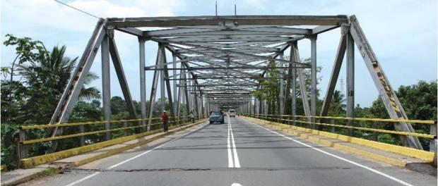 Puente del río Caparo