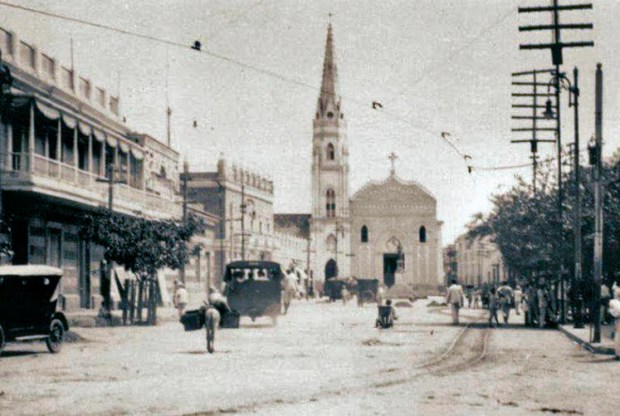 Plaza Baralt a comienzos del siglo XX. Foto en el blog Sabor Gaitero