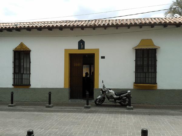 Casa Parroquial, Baruta. Foto: Alejandra Suárez.