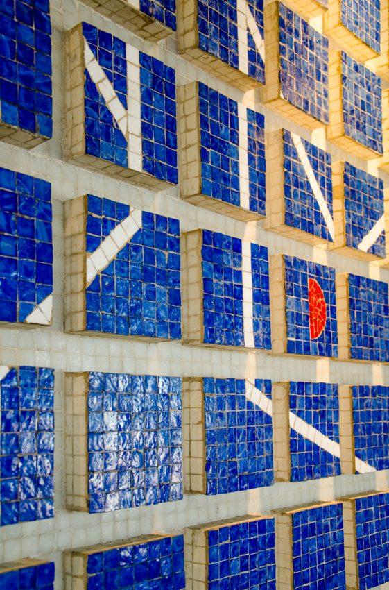 UCV: Murales Progresión rítmica en 3 movimientos