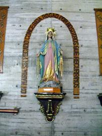 Virgen Milagrosa. Foto: Mildrd maury.