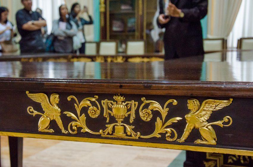 Salón de Los Escudos. Palacio Federal Legislativo, Caracas . Fotografía Luis Chacín.
