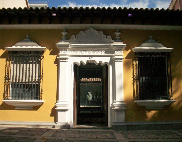 Fachada Fundación Boulton. Foto Mayerling Zapata, enero 2017.