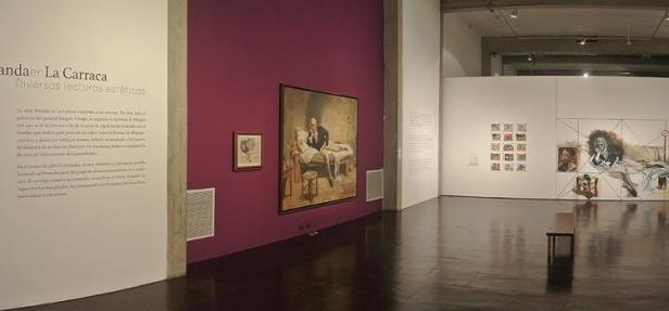 Exposición Miranda en La Carraca, diversas lecturas estéticas. GAN.