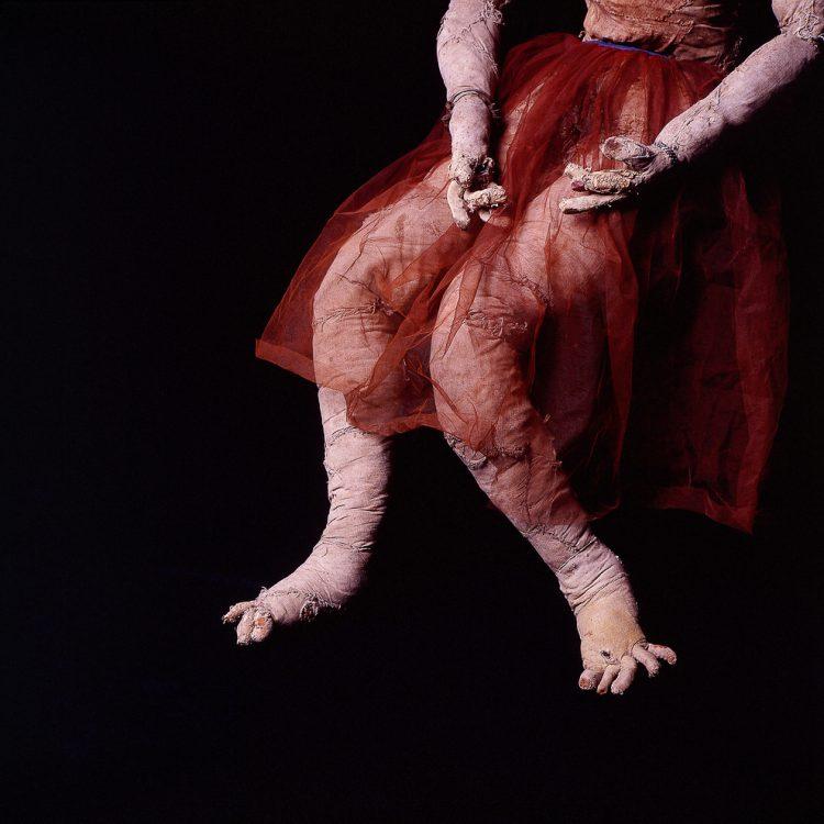 Detalles de las muñecas de trapo de Reverón. Foto Luis Brito, Orinoquiaphoto