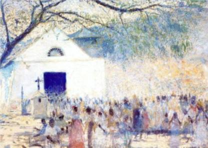 Fiesta en Caraballeda, 1924.
