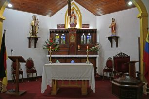 Altar Mayor. Foto José Luis Rosales, Diciembre 2016.