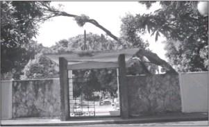 Fachada del Cementerio El Carmen. Foto Samuel Hurtado.