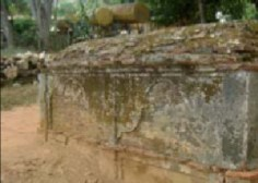 Tumbas que datan del siglo XIX