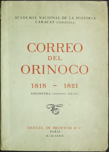 Colección de la Academia Nacional de la Historia.