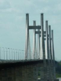 Las 4 torres, asentadas en un aluvión de 90 metros de profundidad.