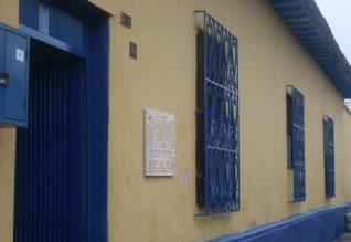 Casa natal de José León Tapia. Foto Alberto Pérez Larrarte.