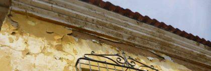 Detalle del techo. Foto M. Araque.