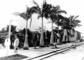 Estación Duaca, Ferrocarril Bolívar.
