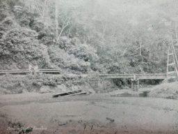 Ferrocarril Bolívar, puente Siquisique. Foto El Cojo Ilustrado 1908. Dig. @Fundhea. Derbys Alexis Suarez
