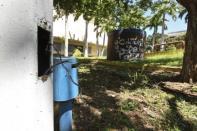 Deterioro material de la plaza Barsanti o plaza Los Tubos. Foto Nuevaprensa.com.ve