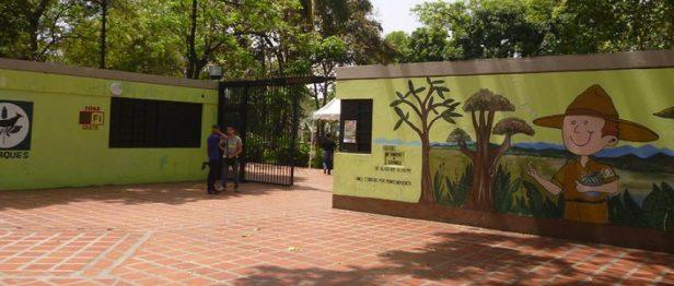 Entrda del parque La Federación. Foto Marinela Araque.