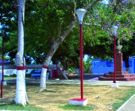 Plaza Bolívar de Tocópero