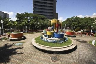 Plazoleta de la plaza Barsanti.