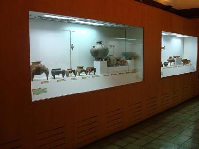 Más de 200 vasijas de cerámica se hallaron en la necrópolis aborigen. Foto MPPC.