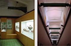 Interior del edificio Exposición permanente. Foto V. Sánchez Taffur.